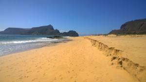 Der Strand von Porto Santo